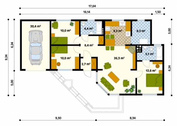 Szyper 2 ground floor plan